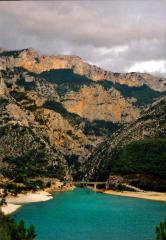 Die Schlucht des Verdon und der Lac Saint Croix