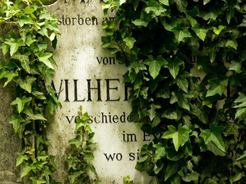 Wilhelms Grabstein